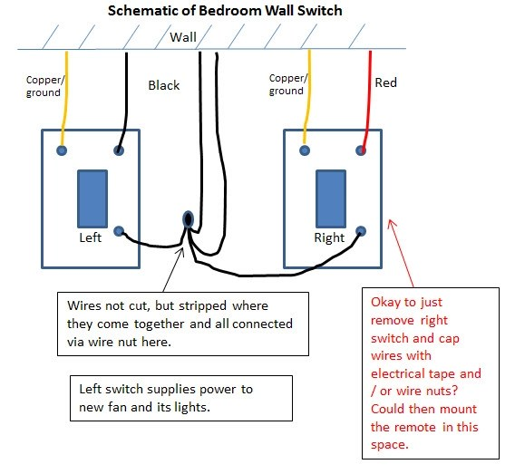 three way electrical switch wiring diagram 12 volt simple question regarding wall - diy chatroom home improvement forum