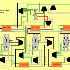 House Outlet Wiring Diagram Of Adaptive Immune Response Flow 3 Half Hot Outlets 1 Switch Electrical Diy Chatroom