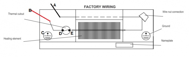 electric baseboard heater wiring schematic wiring diagram baseboard heater wiring diagram diagrams