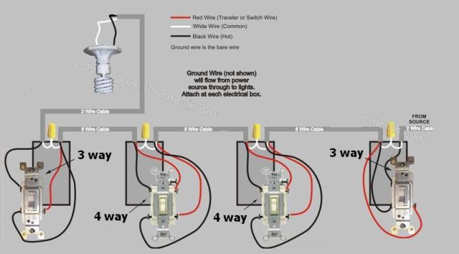 diagram four way wire diagram full version hd quality wire
