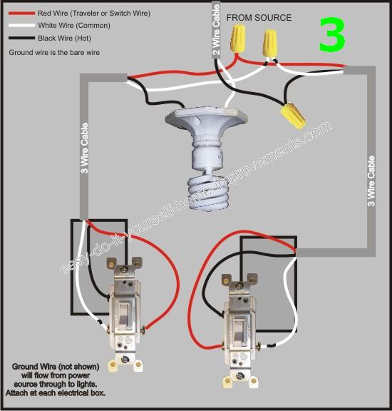 Simple 3 Way Switch Diagram 3 Way Switch Wiring Diagram Multiple