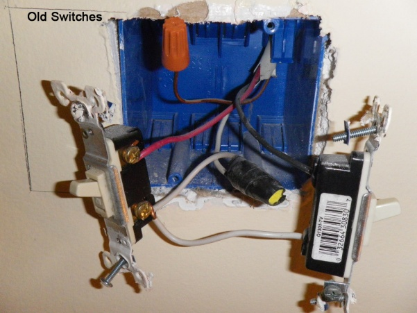3 way switch wiring diagram power to light trailer hitch chair replacing single pole switches with double - electrical page 2 diy chatroom home ...