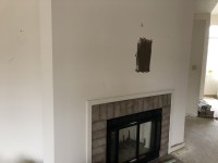 Installing TV Over Fireplace - Not Sure How To Get Power ...