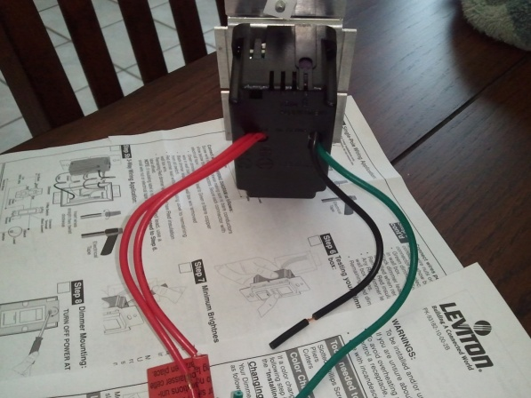 Light Switch Replacement 2 Black 2 Red Wires Diynotcom Diy And