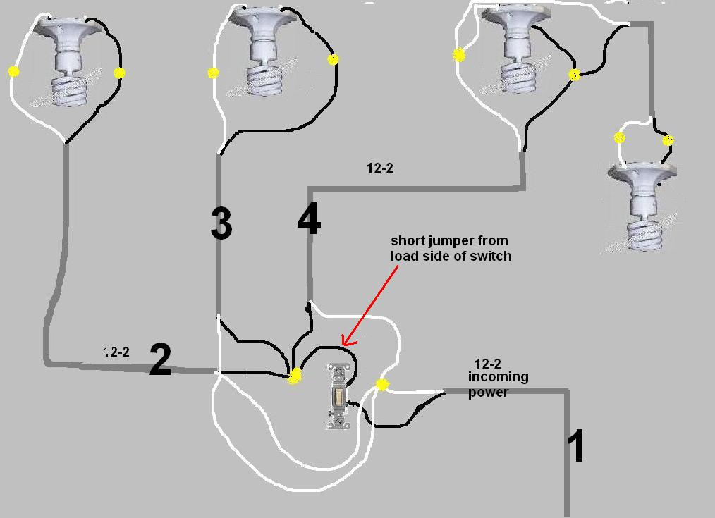 recessed can light wiring diagram 2005 kia sedona switch issue? - electrical diy chatroom home improvement forum