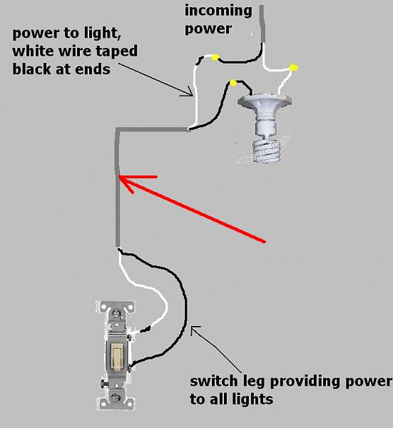 switch to circuit breaker wiring diagram