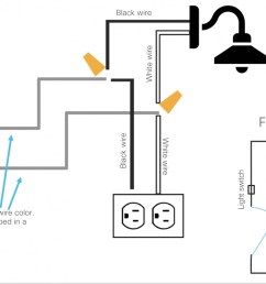 separate light switch from controlling both outlet and sconce light seperate from switch outlet wiring [ 1200 x 751 Pixel ]
