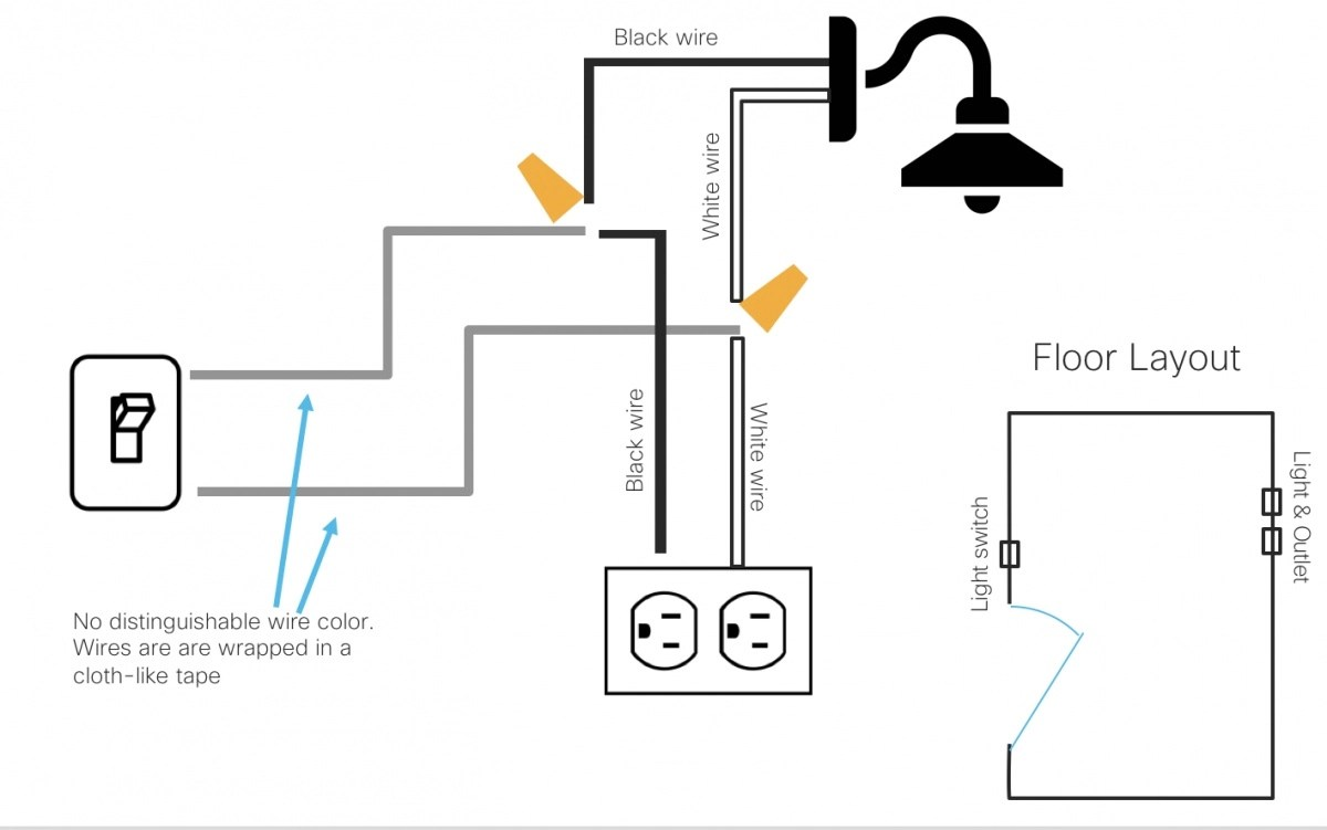 hight resolution of separate light switch from controlling both outlet and sconce light seperate from switch outlet wiring