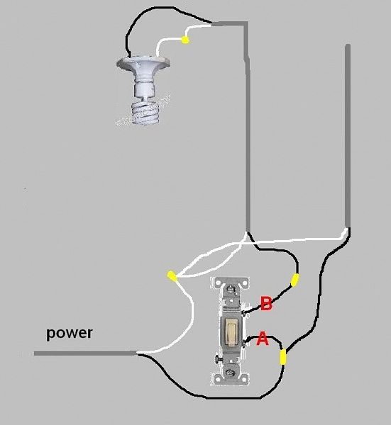 wiring an outlet from a junction box