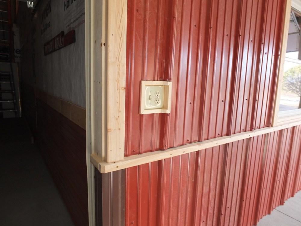 medium resolution of  pole barn wiring to be hidden dividing wall 004 jpg