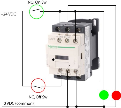 small resolution of contactor wiring latchingcontactor jpg