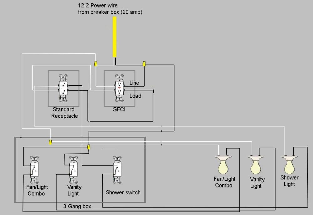 medium resolution of bathroom remodel new wiring wiring diagram 4 jpg