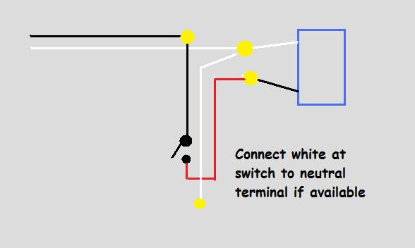 Wiring Power To Light Then Switch Electrical Diy Chatroom Home