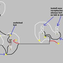 Wiring Diagram Installing Two Way Light Switch For Ceiling Removing Lightswitch Control Half Of Outlet Duplex - Electrical Diy Chatroom Home Improvement ...