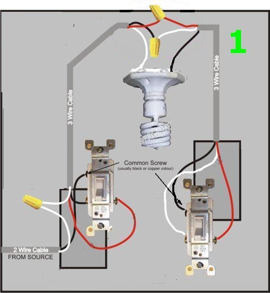 Three Way Switch Wiring Diagram In Addition Spotlight Wiring Diagram
