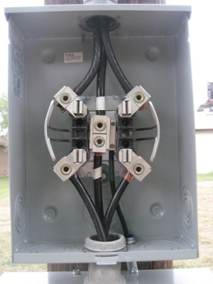 200 Amp Meter Loop Critique My Work  Electrical  DIY