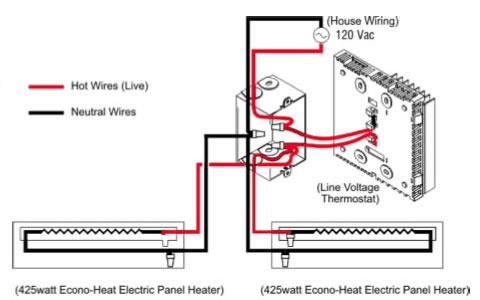 dasiy electric baseboard heat wiring diagrams  rheem