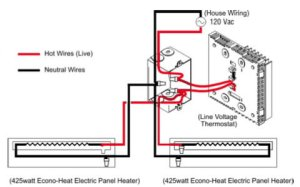 Electric Baseboard Heaters Always On  Electrical  DIY