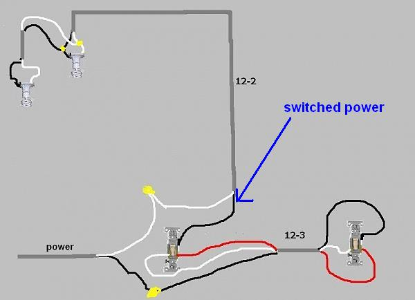 What Is The Proper Way To Wire 3way Dimmer To 4 Can Lights