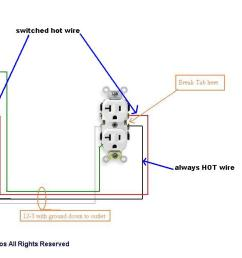problem replacing a half hot receptacle please help electrical rh diychatroom com hot tub wiring diagram hot tub wiring diagram [ 1280 x 635 Pixel ]