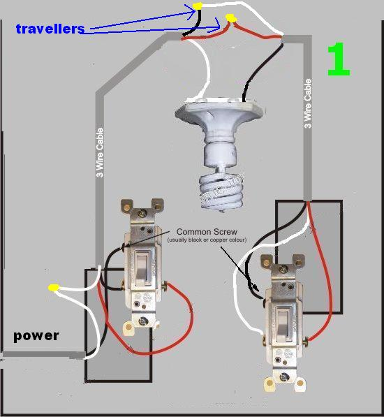 Three Way Switch Line Diagram