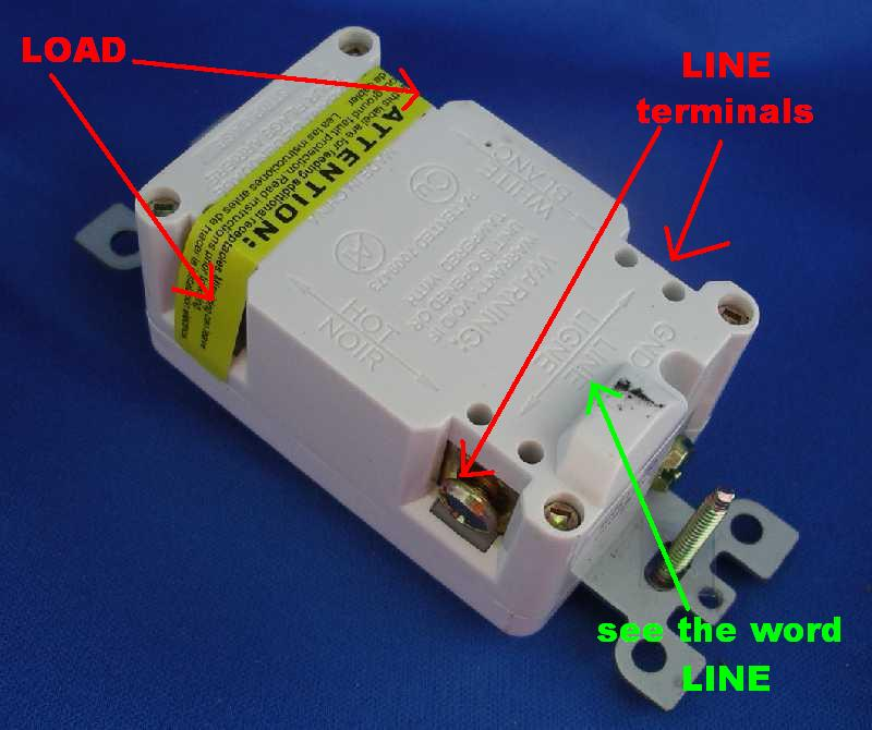 Am Having Issues Wiring A Gfci Outlet And A Double Rocker Switch