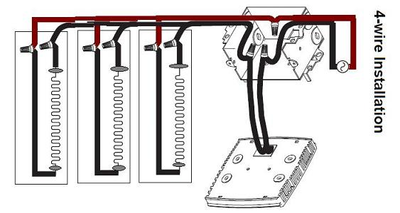 baseboard heater thermostat wiring diagram 110 volt transformer 2 heaters to 1 electrical diy jpg