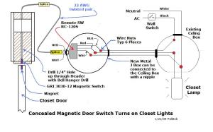 Automatic Closet Lights  Electrical  Page 3  DIY