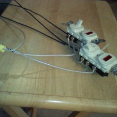 3 Way Switch With Pilot Light Diagram 1992 Electric Club Car Wiring Wire Two 3way Switches Both Lights Electrical Diy 1009130204 Jpg