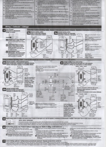 3 way motion sensor light switch wiring diagram wiring diagram of actual wire connections for installing multiple motion sensors