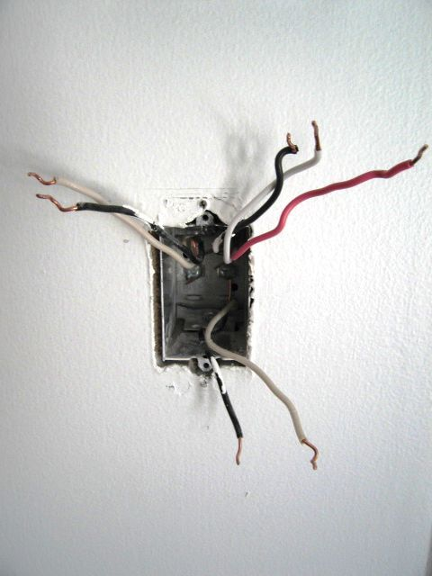 Dimmer Wiring In A Box With 3 Black And 3 White Wires And A Pink Wire