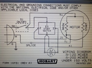 A200 Hobart Mixer  Electrical  DIY Chatroom Home