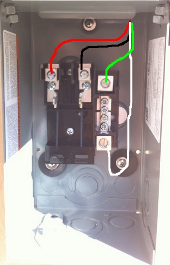 wiring sub panel to main diagram chocolate pt phase subpanel for an unused 50amp circuit - electrical diy chatroom home improvement forum