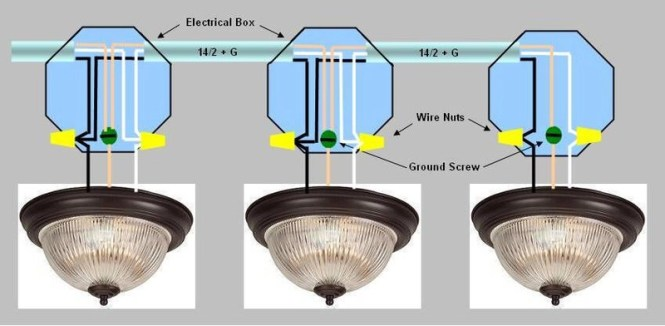 wiring recessed lights parallel diagram wiring diagram proper wiring for recessed lights doityourself munity forums