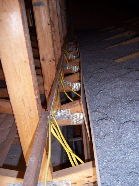 Wiring Attic Lights In My Attic Electrical Diy Chatroom Home