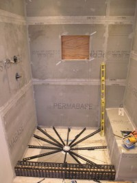 Shower Pan Liner In Tampa - Shower Rebuild - Building ...