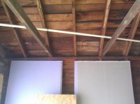 "Garage Renovation/vaulted Ceiling & Removing ""ceiling ..."