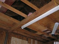 Removing Ceiling Joists In Garage