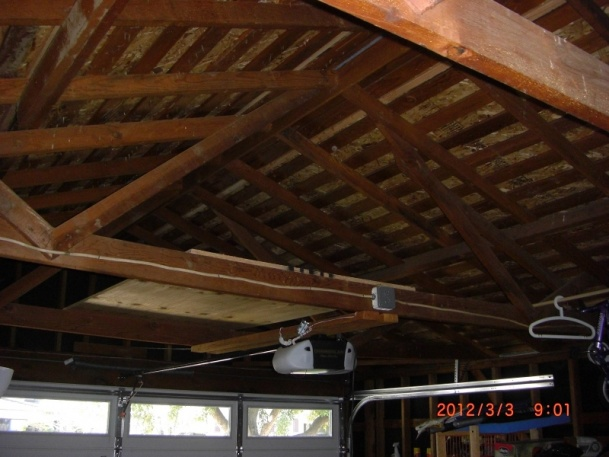Do I Need To Beef Up My Garage Ceiling Joists Building Construction Diy Chatroom Home Improvement Forum