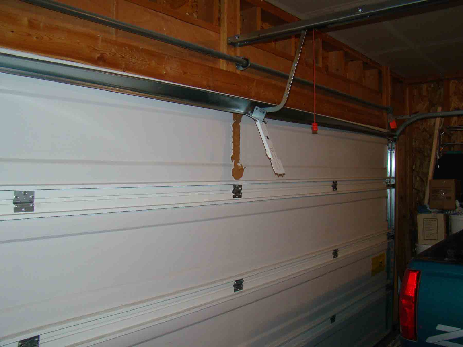 Garage Door Opener Ripped From Door  Building  Construction  DIY Chatroom Home Improvement Forum