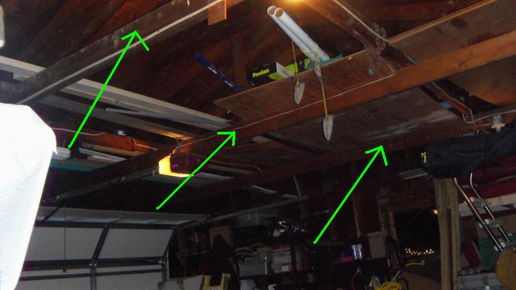 Adding Joists To Garage Ceiling Building Construction Diy Chatroom Home Improvement Forum