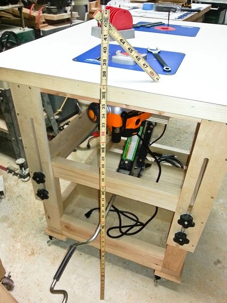 Standing Workbench Height