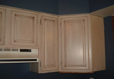 Diy Glazed Kitchen Cabinets