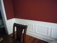 Painting Walls Two Colors As Split By A Chair Rail ...