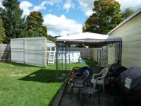 Privacy Screen For Backyard Pool - Project Showcase - DIY ...
