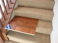 Wood Stairs Without A Skirt, Thoughts? - Flooring - DIY ...