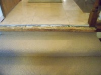 Travertine Steps Bullnose
