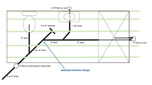 small resolution of plumbing bathroom limited vertical space bathroom diagram 001 jpg