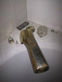 Remove Old Delta Tub Faucet - Plumbing - DIY Home ...