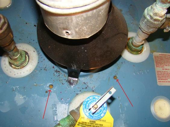 Spilling Gas Water Boiler